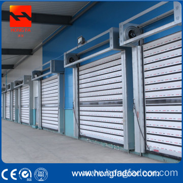 Aluminium high speed turbo door